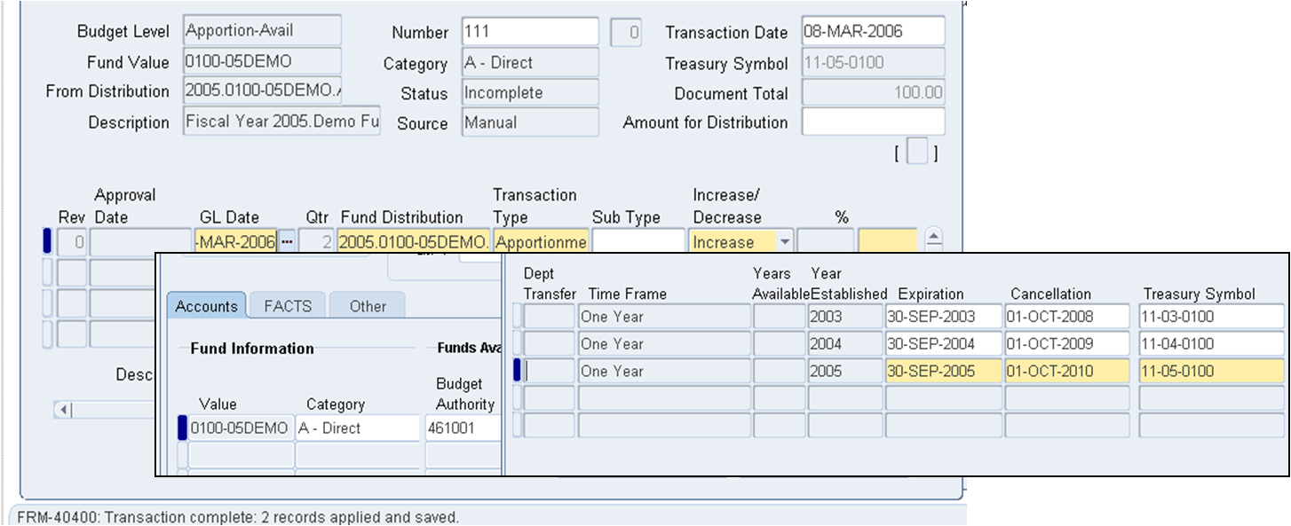 r12 federal financials features oracle federal applications
